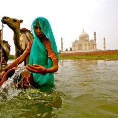 """""""Leyendas de Mumtaz Mahal"""". Agra."""