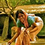 """Llueve en el paraíso"". West Bengal."