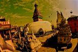 """""""Monkey Temple"""". Kathmandú."""