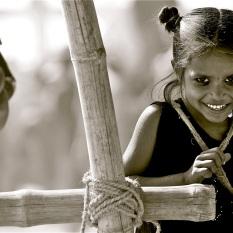 """""""La alegría del campamento"""". Pushkar."""