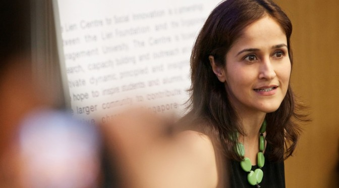 "Conferencia Kiran Sethi. TED. ""Kids take charge"".  Subtitulado."