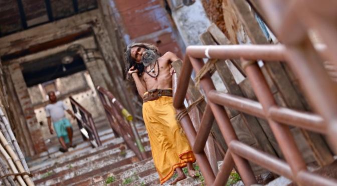 """GALERíA: """"Asutosh, Hijo del Ganga"""". Benares. Agosto 2014."""